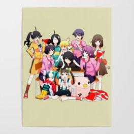 Monogatari Koyomi Poster