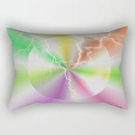 Electric Lollipop Rectangular Pillow