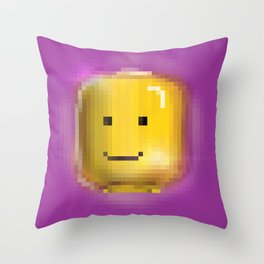 Pixel Illuminati Throw Pillow
