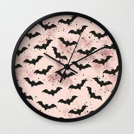 Release the Bats Wall Clock