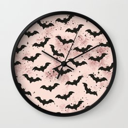Release the Bats Wall Clock