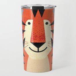 Whimsy Tiger Travel Mug