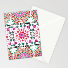 Pink Moorish Stationery Cards
