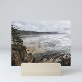 Lookout Point near Otter Rock Mini Art Print