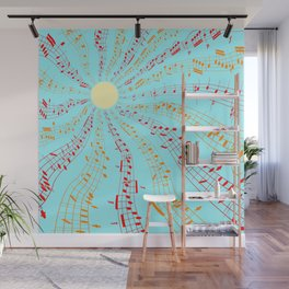 Music Brightens the World Wall Mural