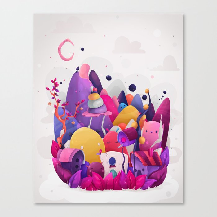 Home for Imaginary Friends Canvas Print