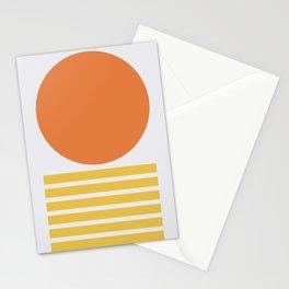 Geometric Form No.5 Stationery Cards