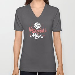 Volleyball Mom - Gift Unisex V-Neck