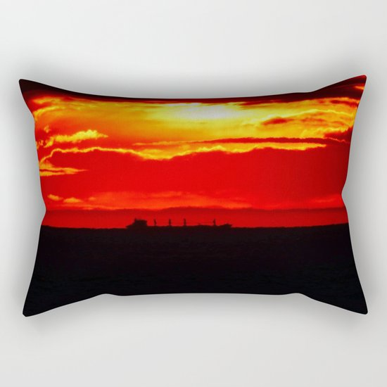 Ship under the Sun Rectangular Pillow
