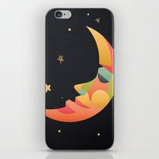 Imaginative Moon iPhone Skin
