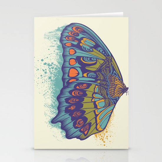Butterfly Life Cycle Stationery Cards