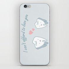 Teeth in Love  iPhone & iPod Skin