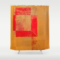 lion Shower Curtains featuring Lion by Fernando Vieira
