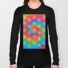 Hippie Holiday Tie Dye Long Sleeve T-shirt