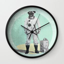 P.U.G.S Pugstronaut Wall Clock
