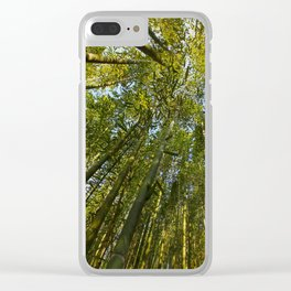 Bamboo Forest Clear iPhone Case