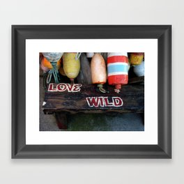 Love Wild Baby :-)) Framed Art Print