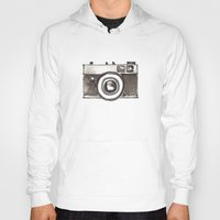 vintage camera Hoodies featuring Vintage Camera by Svitlana M