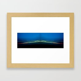 Bluestrings Framed Art Print