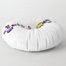 Spongebob Characters Floor Pillow