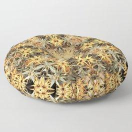 Yellow flowers Floor Pillow