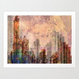 Urbania Art Print