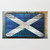 scotland Area & Throw Rugs featuring Scotland by Arken25