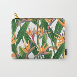 bird of paradise pattern Carry-All Pouch