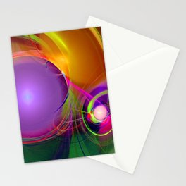 Gravitational Attraction Stationery Cards