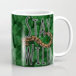 Stay Wild - Python x Monstera Coffee Mug