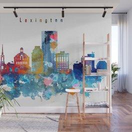 Lexington City Skyline Wall Mural
