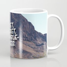 Cricket, cricket, tumbleweed. Coffee Mug