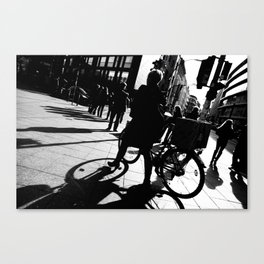 Berlin's streets in black and white 2 Canvas Print
