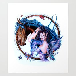 Faerie Princess  Art Print