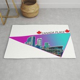Canada Place Triangle Rug