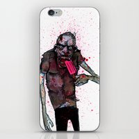 dessert iPhone & iPod Skins featuring Dessert by Grant Hunter