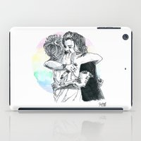 larry iPad Cases featuring Larry Hug 2015 by rachaellovesfood