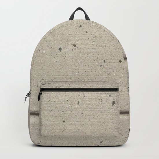 Real, Concrete, not Abstract Backpack