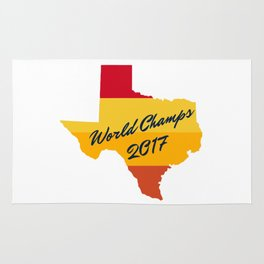 Houston Astro World Champions Rug