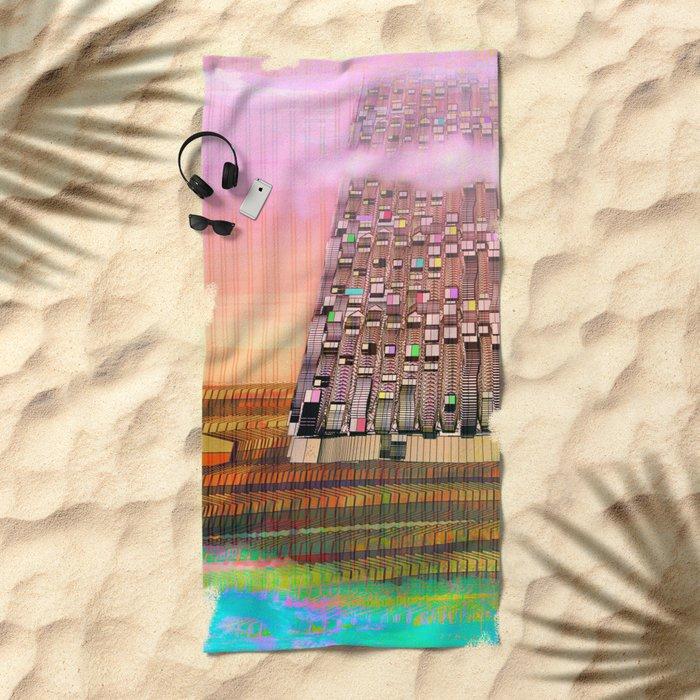 Atlante 30-06-16 / BABYLON'souls Beach Towel