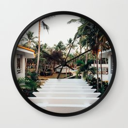 Grand Paradise View Wall Clock