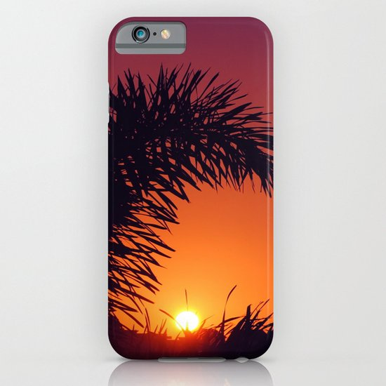 sunset in mexico iPhone & iPod Case