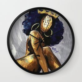 Naturally Queen XII Wall Clock