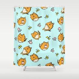 Kawaii Cats Shower Curtain