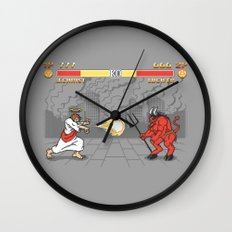 The Final Battle Wall Clock