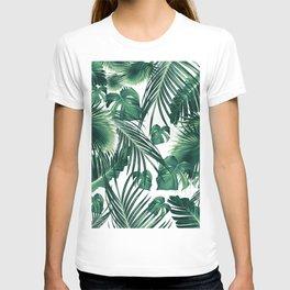 Tropical Jungle Leaves Dream #3 #tropical #decor #art #society6 T-shirt