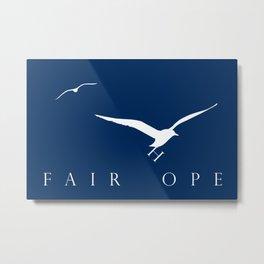 Fairhope Seagulls Metal Print