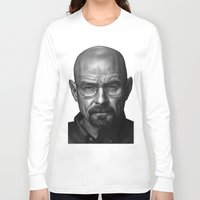 heisenberg Long Sleeve T-shirts featuring Heisenberg by Mike Robins