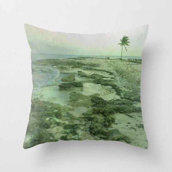 Tip of Paradise Throw Pillow