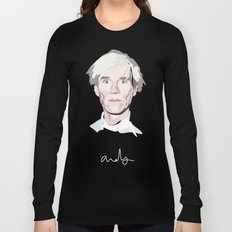 Andy - Artist Series Long Sleeve T-shirt